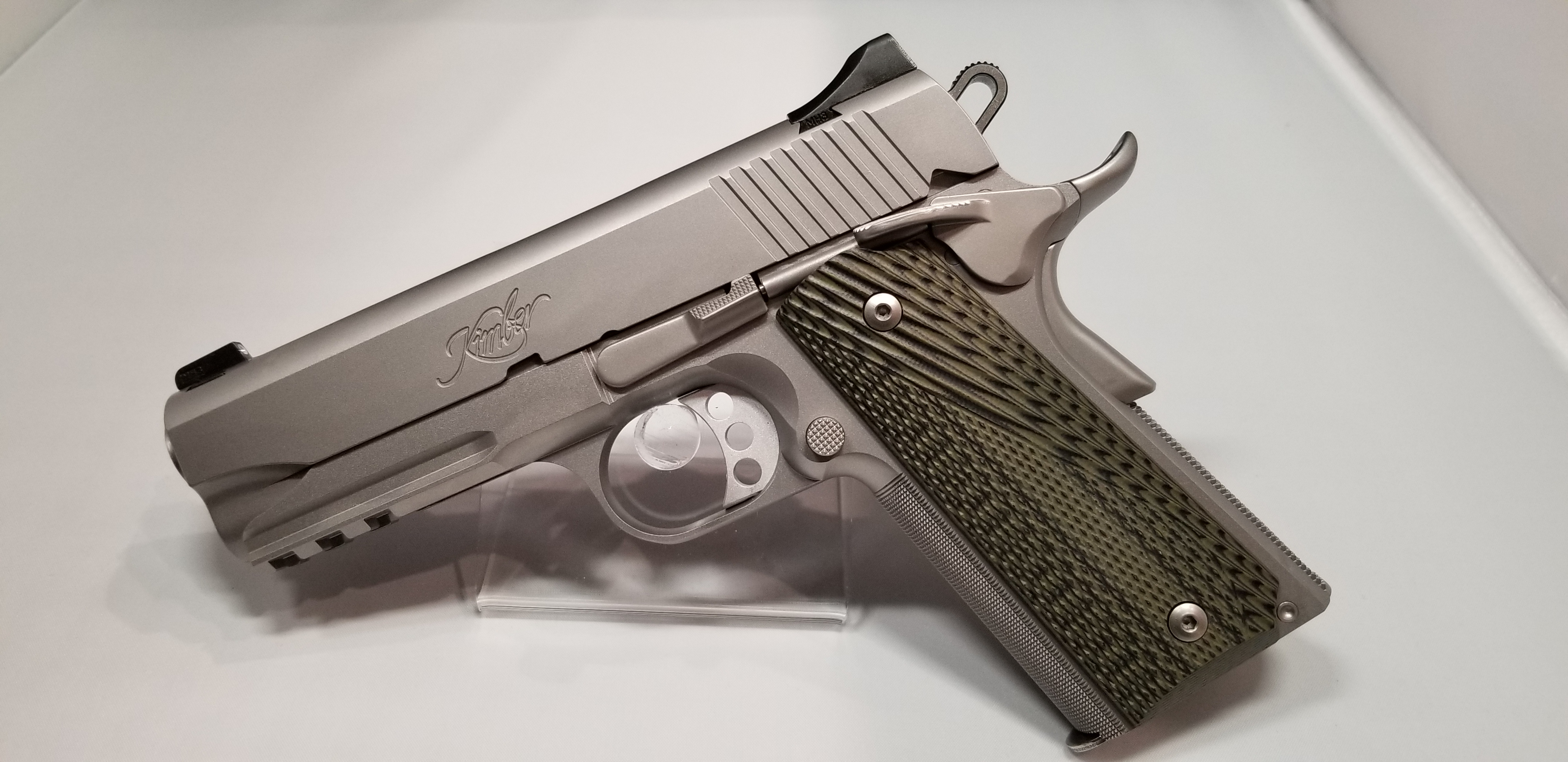 Kimber Stainless Pro TLE-RL II in 45acp